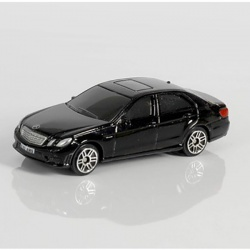 Машина металлическая 1:64 Mercedes Benz E63 AMG, без механизмов, белый