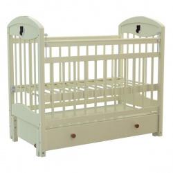 Кроватка Briciola 3 маятн.прод. ящ. авт. слоновая кость , BR0311