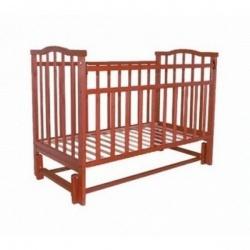 Кроватка детская ЗОЛУШКА Золушка-5 120*60 классическая, маят. продольный Вишня
