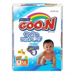 Трусики Goon 7-12 кг M универсальные для мальчиков и девочек (58 шт)