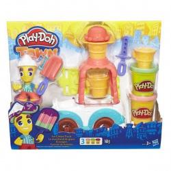 Набор для детского творчества Грузовичок с мороженым, с пластилином, HASBRO