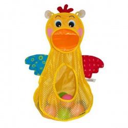 Игрушка для купания Голодный пеликан, с мячиками, K'S KIDS