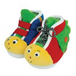 Игрушка мягкая Ботинки обучающие, 2 шт, K'S KIDS