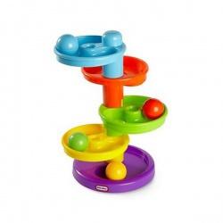 Игрушка пластмассовая Горка-спираль, LITTLE TIKES