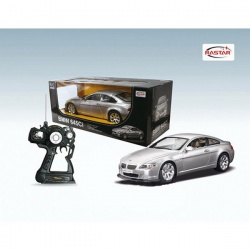 Игрушка пластмассовая машина BMW 645Ci, р/у, 1:10, свет, RASTAR