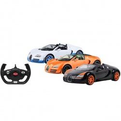 Игрушка пластмассовая машина Bugatti Grand Sport Vitesse, р/у, 1:14, RASTAR