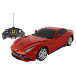 Игрушка пластмассовая машина Ferrari F12, р/у, 1:18, RASTAR