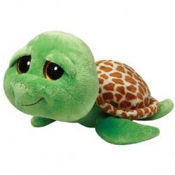 Игрушка мягкая Beanie Boo's. Черепашка Shellby, зеленая, TY