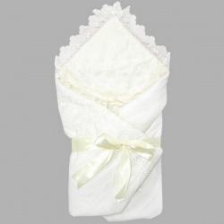 Одеяло-конверт на выписку АРГО, 90х90, весна-осень, синтепон пл.200 Шампань