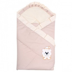 Одеяло-конверт на выписку Мишутка АРГО, 90х90, весна-осень Шампань