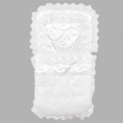 Конверт на выписку ГРАЧ, 9пр, наполнитель синтепон зима, пл.300 Белый