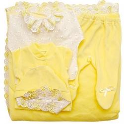 К-т Светлячок ГРАЧ, с одеялом велюр+трикотаж, 7 пр.,зима, пл.300 Желтый