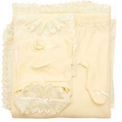 К-т Светлячок ГРАЧ, с одеялом велюр+трикотаж, 7 пр.,зима, пл.300 Экрю