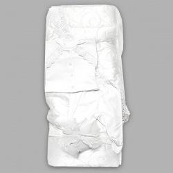 Комплект на выписку ГРАЧ, 6пр,наполнитель синтепон, зима, пл.300 Белый