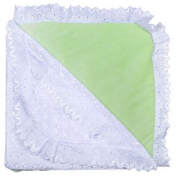 К-т Светлячок ГРАЧ, с одеялом велюр+трикотаж, 7 пр.,зима, пл.300 Салатовый