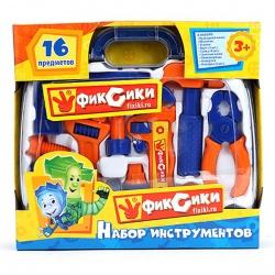 Игрушка пластмассовая Инструменты Фиксики, в чемодане, ИГРАЕМ ВМЕСТЕ