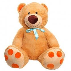 Игрушка мягкая Медведь бантик, 108 см