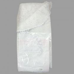 Комплект на выписку МАРГАРИТА, 7 предм., вышивка, вуаль, весна-осень, синтепон, пл.200 Белый