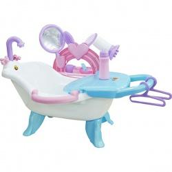 Игрушка пластмассовая Набор для купания кукол №2, с аксессуарами, в пакете, ПОЛЕСЬЕ