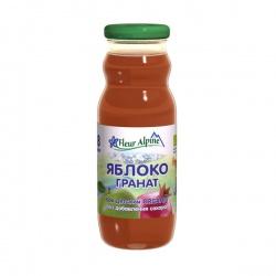 Флёр Альпин сок Органик яблоко-гранат, 8 мес.
