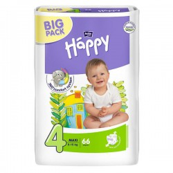 Подгузники Bella Happy 4 maxi 8-18 кг (66 шт)