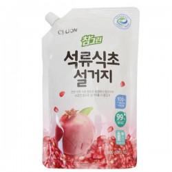 CJ Lion Средство для мытья посуды Chamgreen С гранатом, мягкая упаковка, 860 мл
