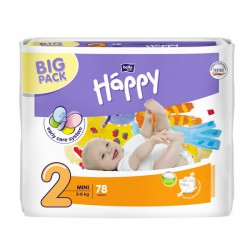 Подгузники Bella Happy 2 mini 3-6 кг (78 шт)