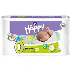 Подгузники Bella Happy 0 Befor Newborn до 2 кг (25 шт)