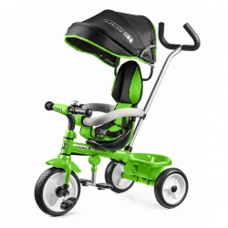 Детский трехколесный велосипед Small Rider Cosmic Zoo Trike (Зеленый)