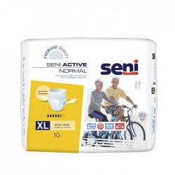 Трусики Seni Active Normal Extra Large 4, талия 120-160 см (10 шт)