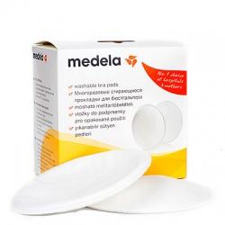 Medela Прокладки грудные многоразовые стирающиеся (4 шт)