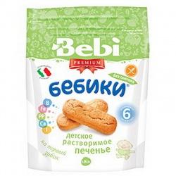 Bebi Premium Печенье без глютена с 6 мес, (180 г.)