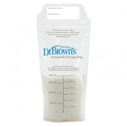 Dr.Brown Пакеты для хранения грудного молока, 180 мл. (25 шт)
