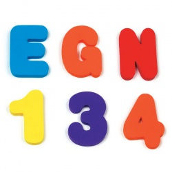 Munchkin Игрушка для ванной Буквы и Цифры 24+