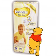 Подгузники Huggies Elite Soft (5) 12-22 кг 56 шт.