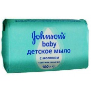 Johnsons baby Мыло с экстрактом натурального молока 100 г