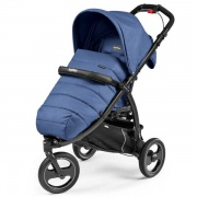 PEG-PEREGO Коляска Book Completo CROSS (blue denim)