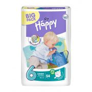 Подгузники Bella Happy 6 junior extra 16+ кг (54 шт)