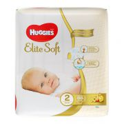 Подгузники Huggies Elite Soft (2) 3-6 кг 88 шт.
