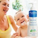 Mustela Bebe Гель для мытья с 1-го дня жизни с дозатором (500 мл)